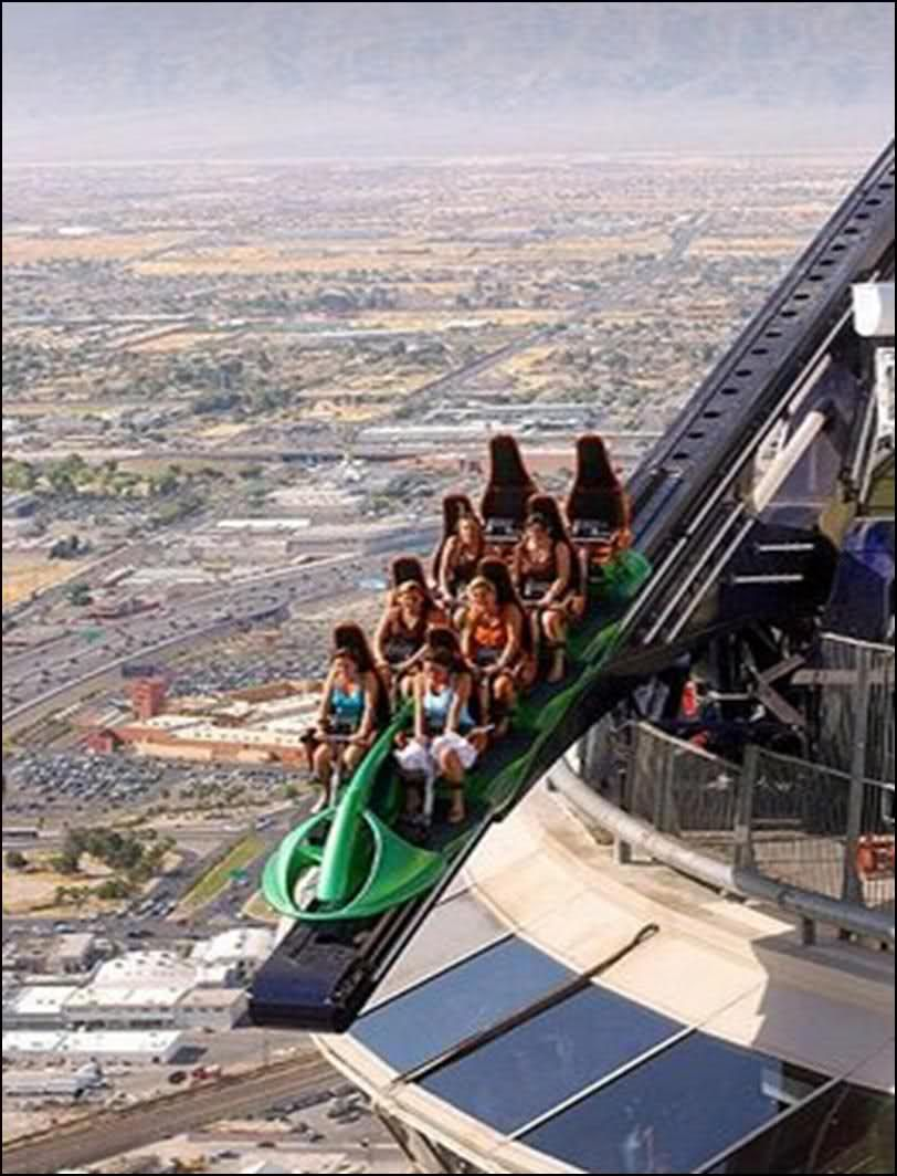 x-scream stratosphere casino hotel and tower las vegas