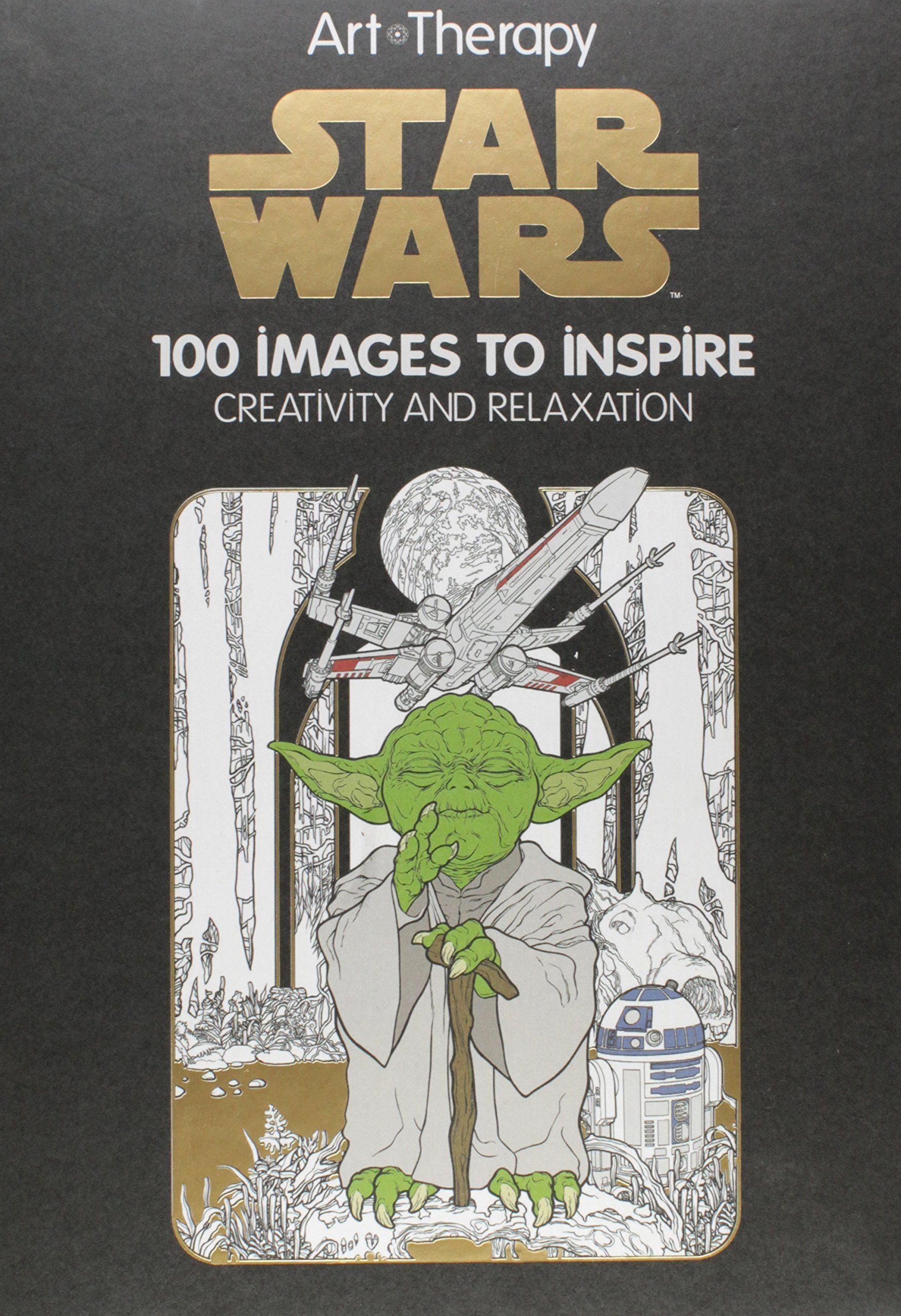 Art Of Coloring Star Wars Lovely Amazon Art Of Coloring Star Wars 100 To Inspire Star Wars Coloring Book Coloring Books Book Art