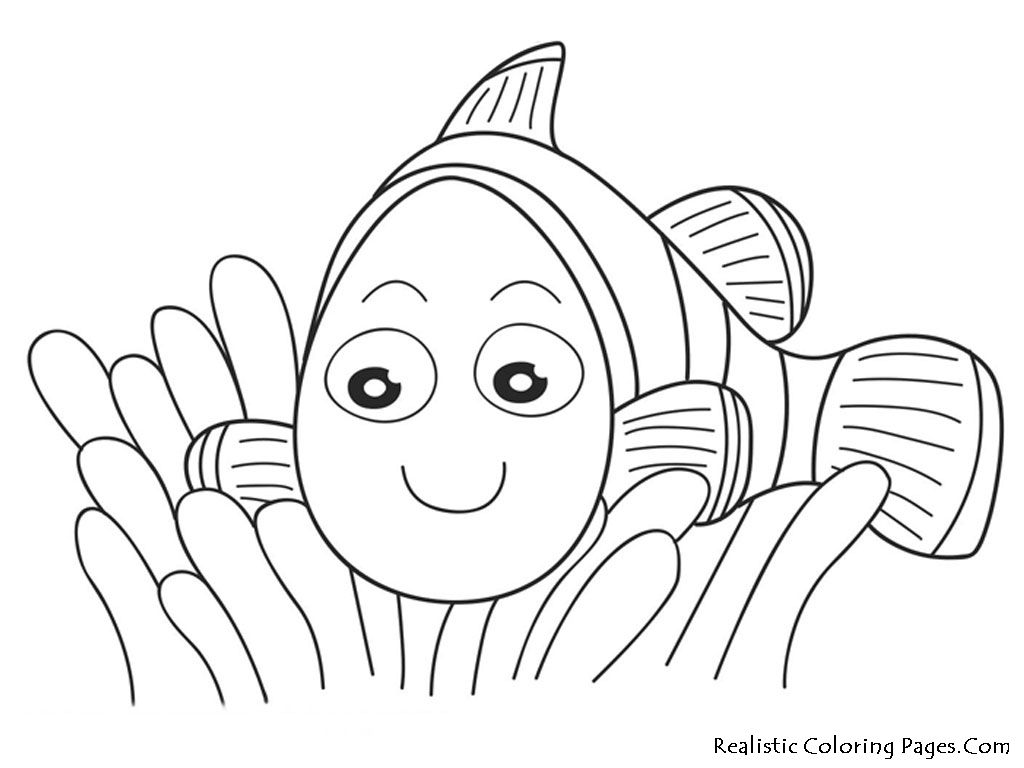 Finding Nemo Coloring Page Printable
