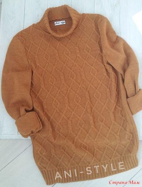 мужской свитер связан на бразер 892850 в группе в контакте я