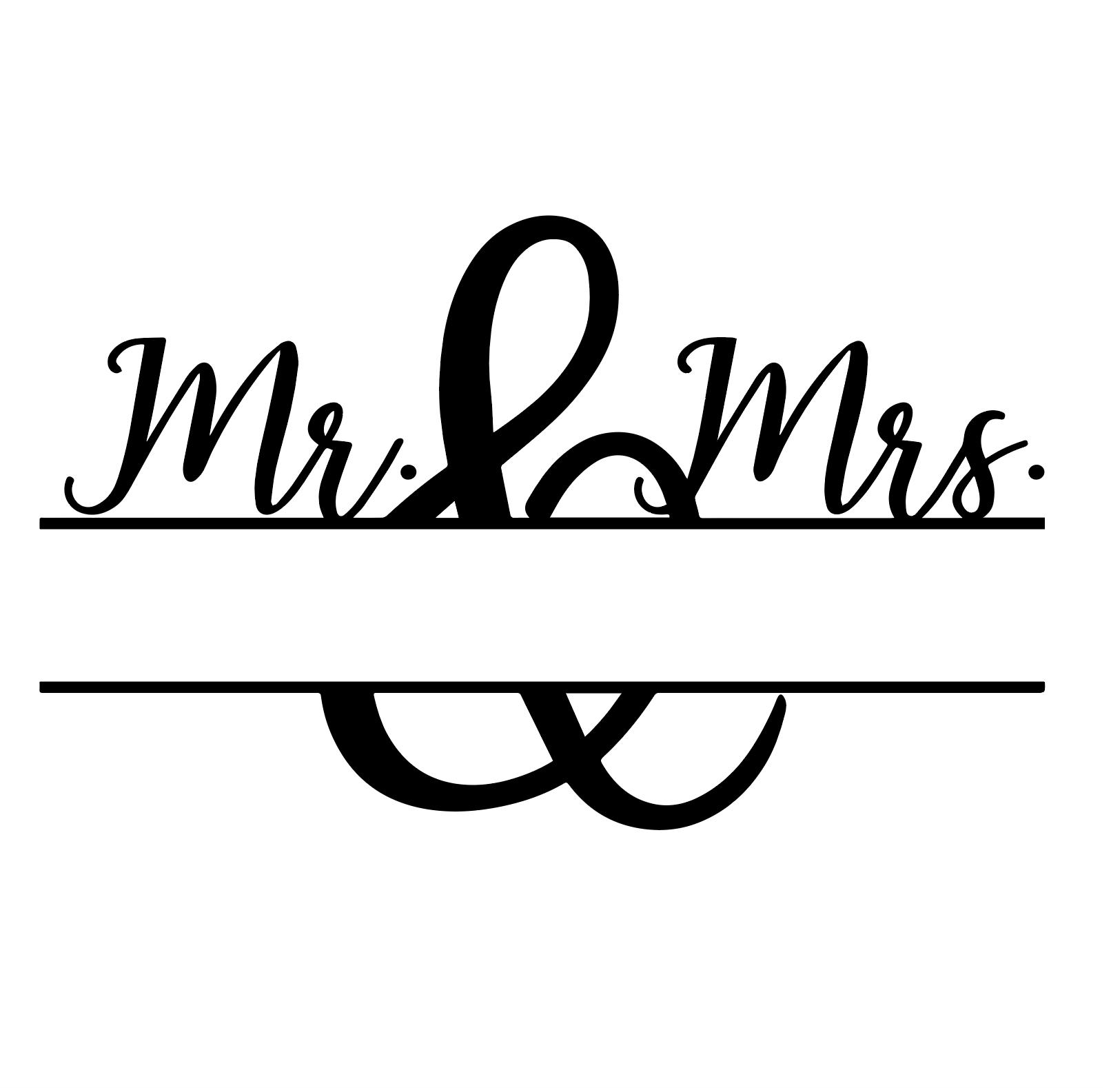 Herr Und Frau Frau Herr Nahttablo Und Cricut Monogram Cricut Monogram Font Lettering