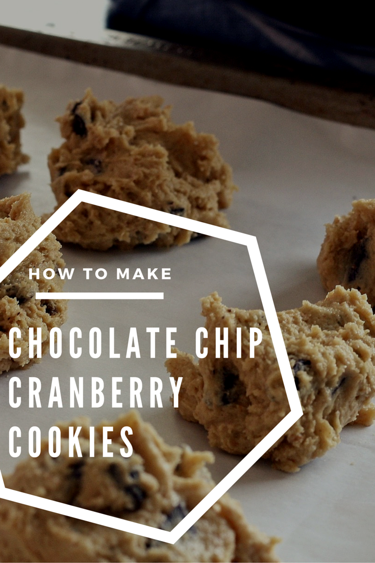A festive spin on an ooey gooey classic. Learn how to make chocolate chip craberry cookies from scratch. http://dorsey.edu/blog/a-new-take-on-thanksgiving-desserts/