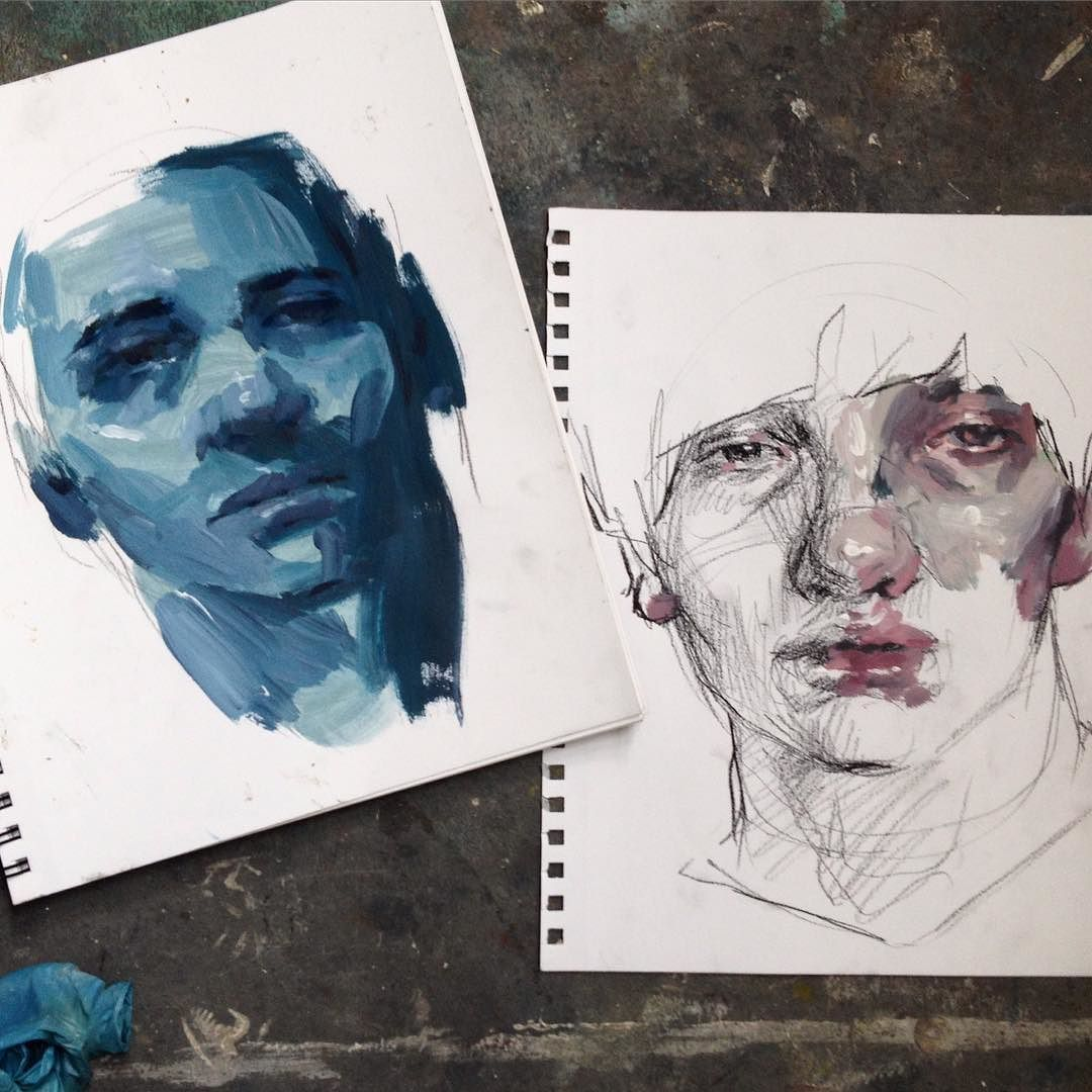 Some painting demonstrations from today by ellysmallwood