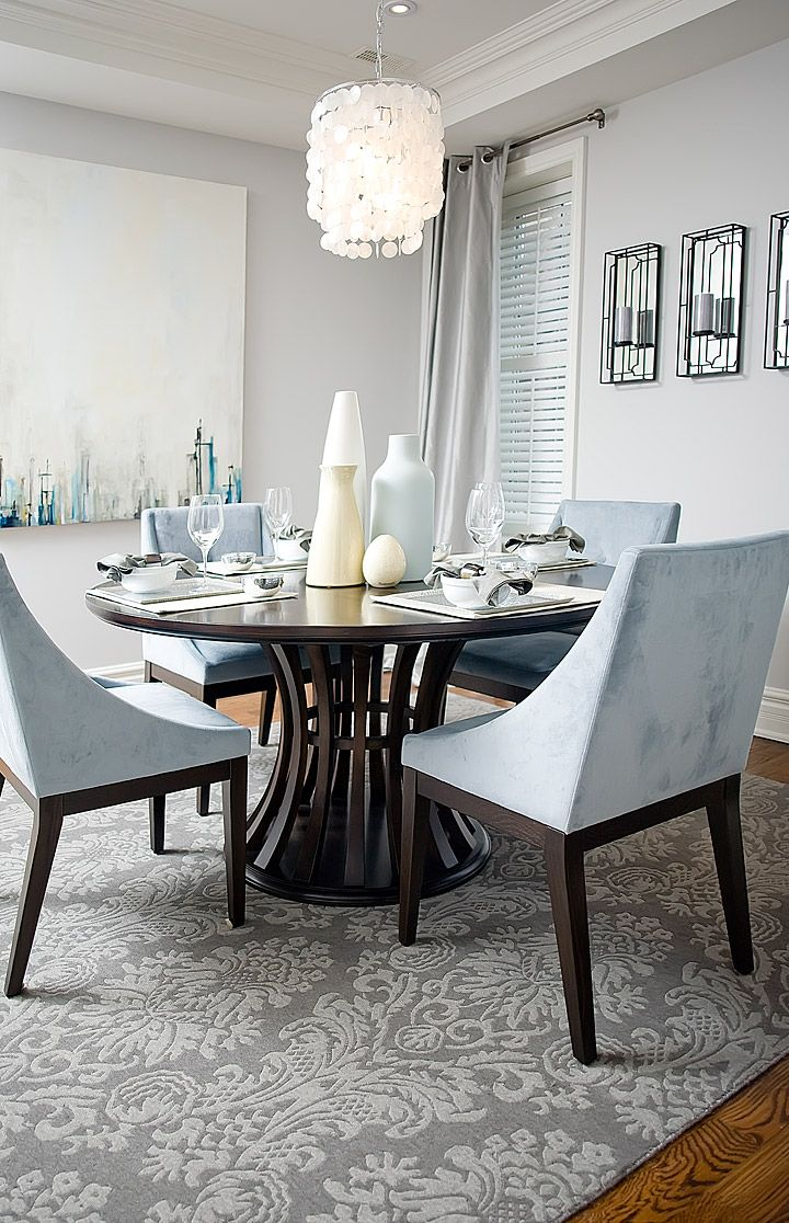 Forest hill townhouse jessica kelly design absolutely gorgeous softly upholstered chairs with wooden legs blend compliment the table lovely curves