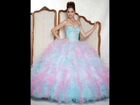 c04725f31 ♥Los 27 Vestidos De Xv Años Mas Bonitos Del Mundo!☺ - YouTube