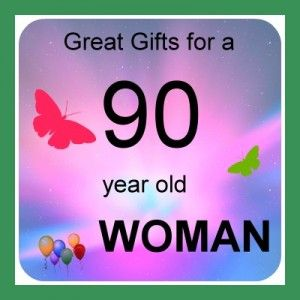 90 Year Old Woman Gifts 90th Birthday