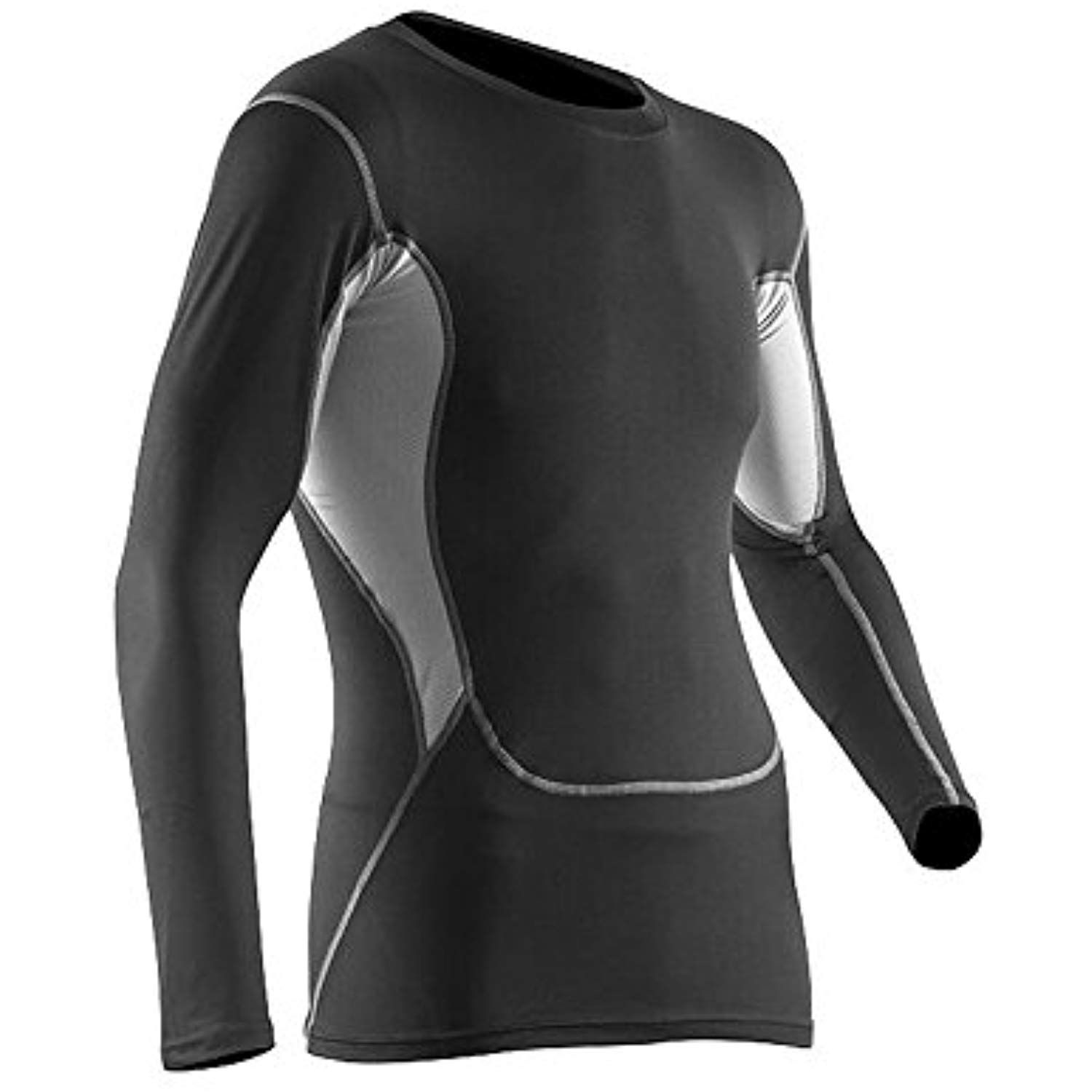 Mens COOVY Compression Wear Top Tight Short Sleeve T-Shirts Reflective pads