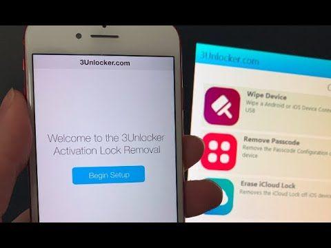 NEW iCloud Unlock App 3Unlock Live Tutorial Icloud