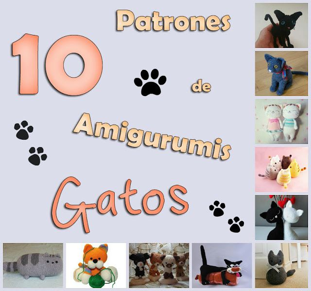 gato amigurumi | AMIGURUMIS 8 | Pinterest | Gato, Arte friki y ...