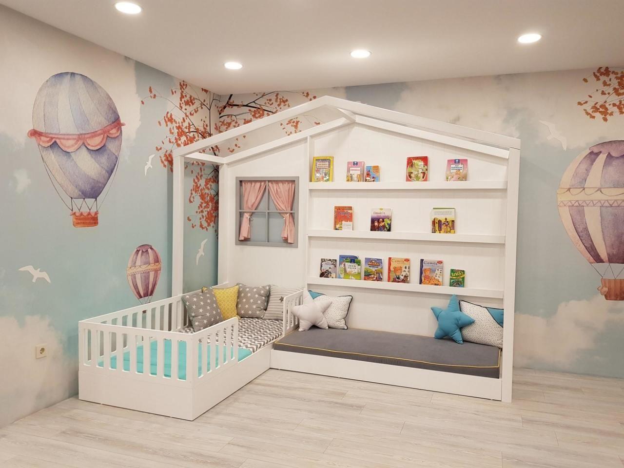 Camere Montessoriane : Espacios montessori que te encantarán tips de diseño childrens