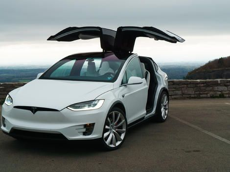 Tesla's Model X is the most amazing SUV on the road