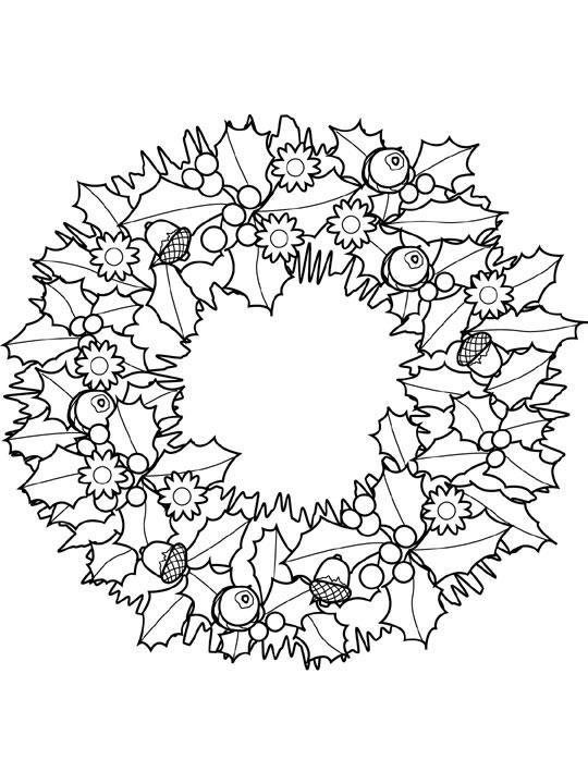 Бегемот, рождественский венок картинки для распечатки