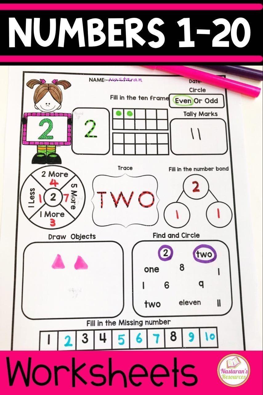 Numbers 1 20 Assessment Nastaran S Resources Numbers Kindergarten Number Identification Worksheets Kindergarten Math Homeschool [ 1280 x 854 Pixel ]