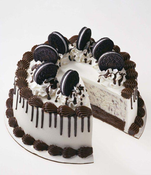 oreo ice cream cake design Ice Cream Cake  Ice cream cake, Ice cream cake recipe, Homemade