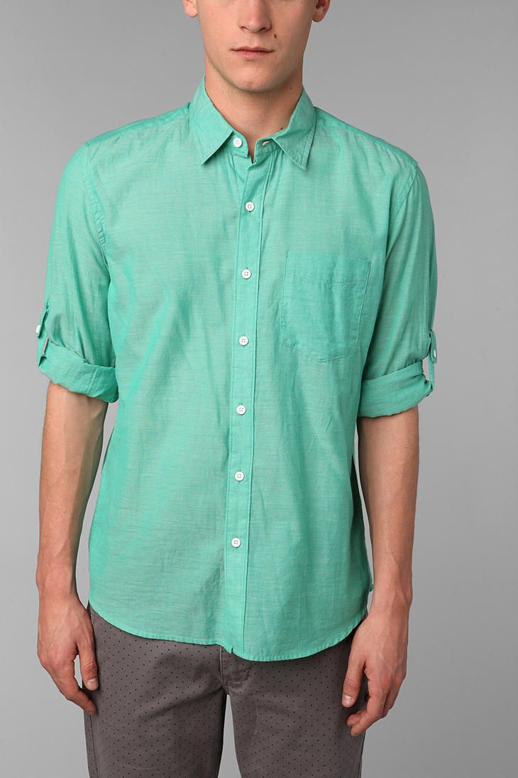Hawkings McGill Breezy Button-Down Shirt | Smart Guy, nice clothes ...