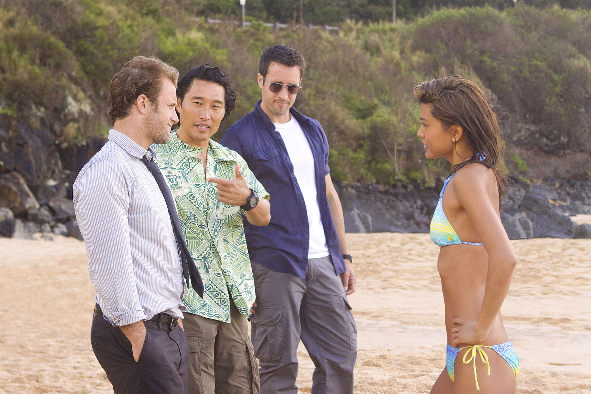 Did you that Paul from days of our lives was on last night's episode of Hawaii five o    I was like wow.