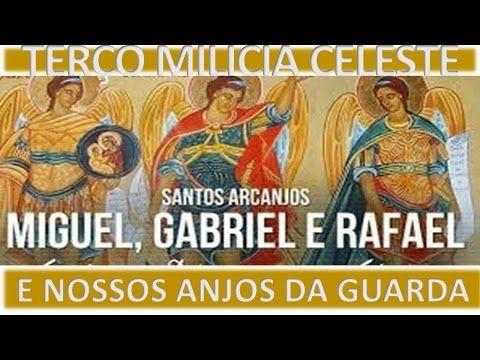 A Trintena Dos Anjos Gabriel Rafael Miguel Youtube Arcanjo