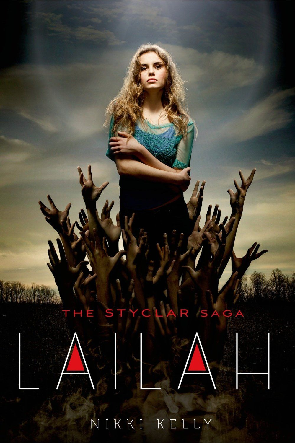 The amazingly beautiful cover for Lailah book 1 in the Styclar Saga! Props to the cover designer! :D