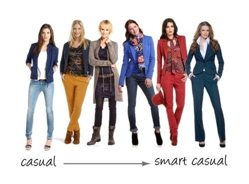 dresscode business casual vrouw