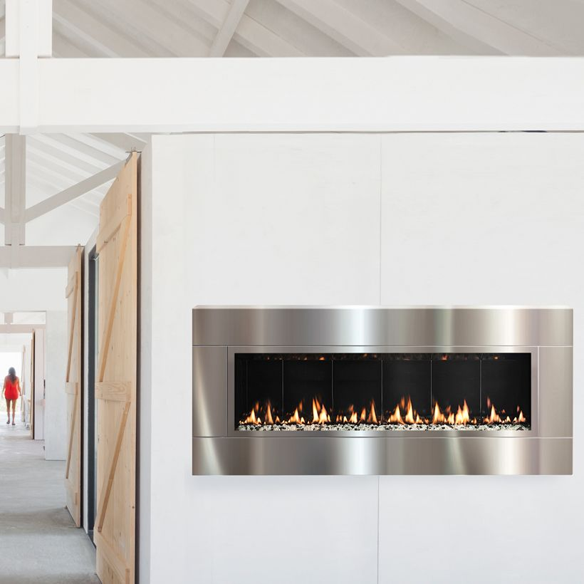 This Wall Mounted Fire Delivers Maximum Impact With Minimum Hassle