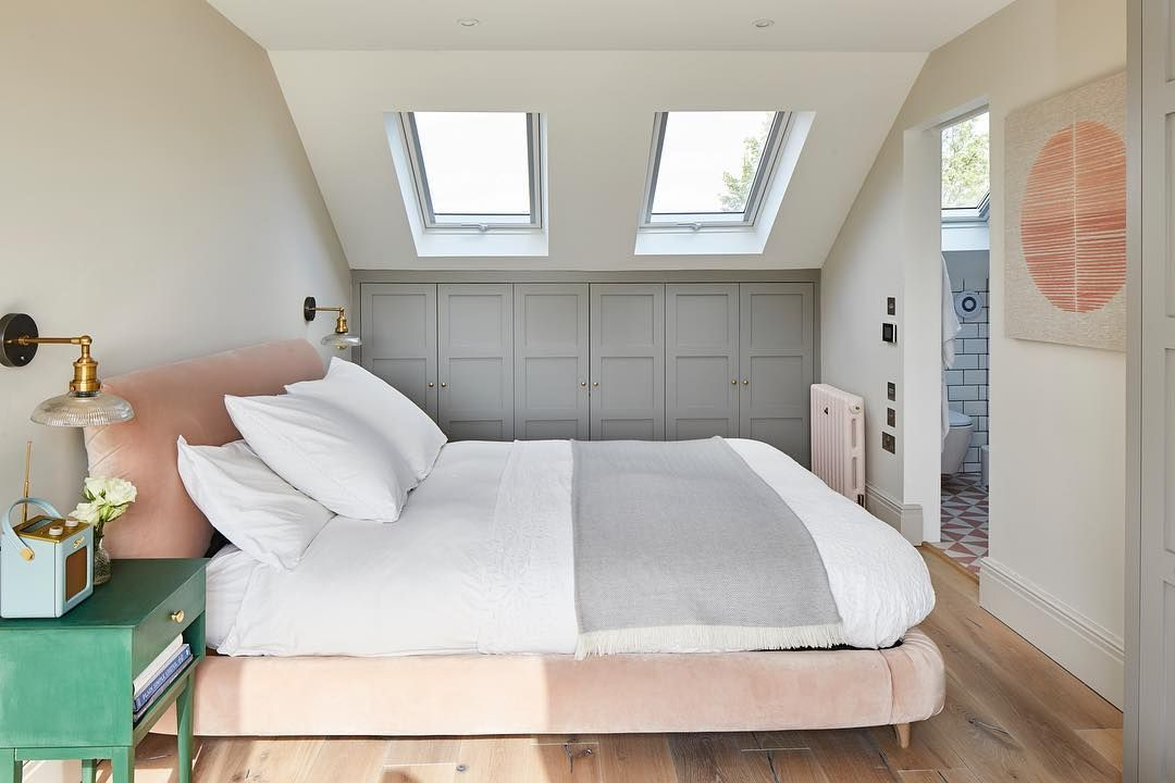 "Ash Island Lofts on Instagram: ""What's not to like at this rear dormer loft conversion in Hanwell ❤️❤️❤️ . . . #loftconversion #familybathroom #greyaluminium #hanwell #w7…"" #loftconversions"