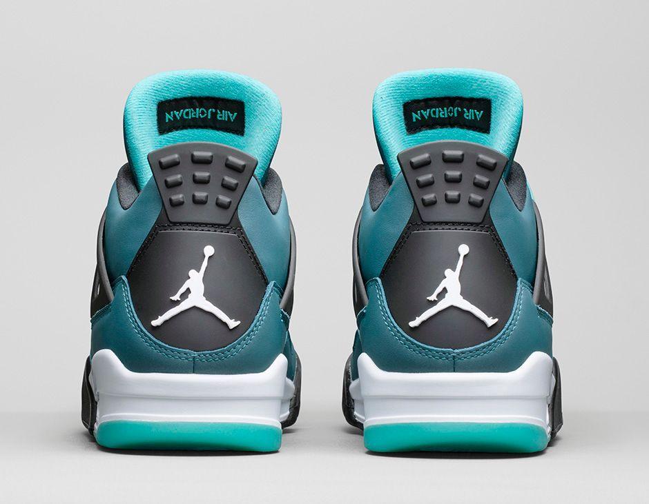 good 2129f c4f22 Air Jordan 4 Retro Teal