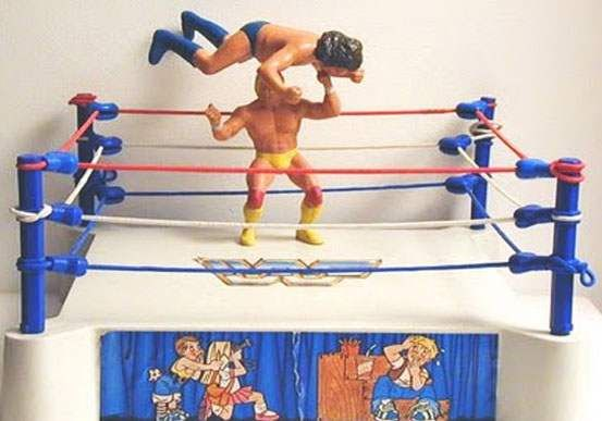 Ljn Wrestling Superstars Wrestling Ring Cool Toys Classic Toys Childhood Toys