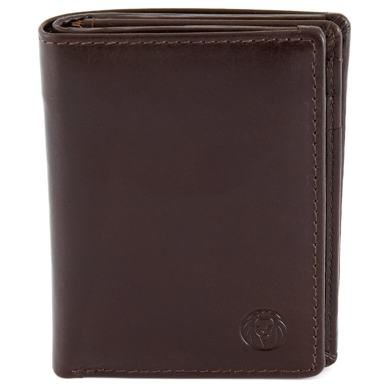 Minimalist Dark Brown Jasper Leather Wallet | In stock! | Lucleon #leatherwallets