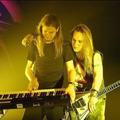 Janne And Alexi Childrenofbodom Children Of Bodom Alexi Laiho Concert