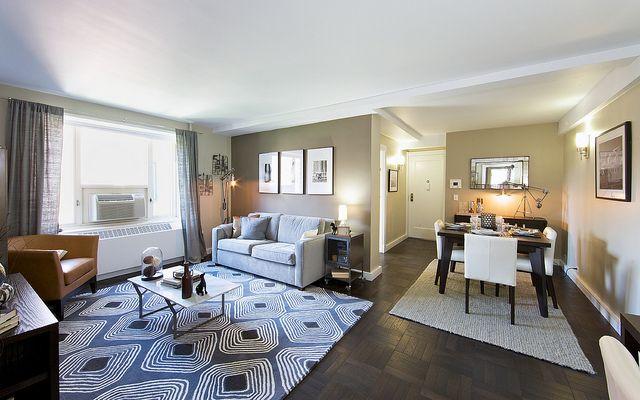 Stuyvesant Town Modern Living Room By Pcvst 3