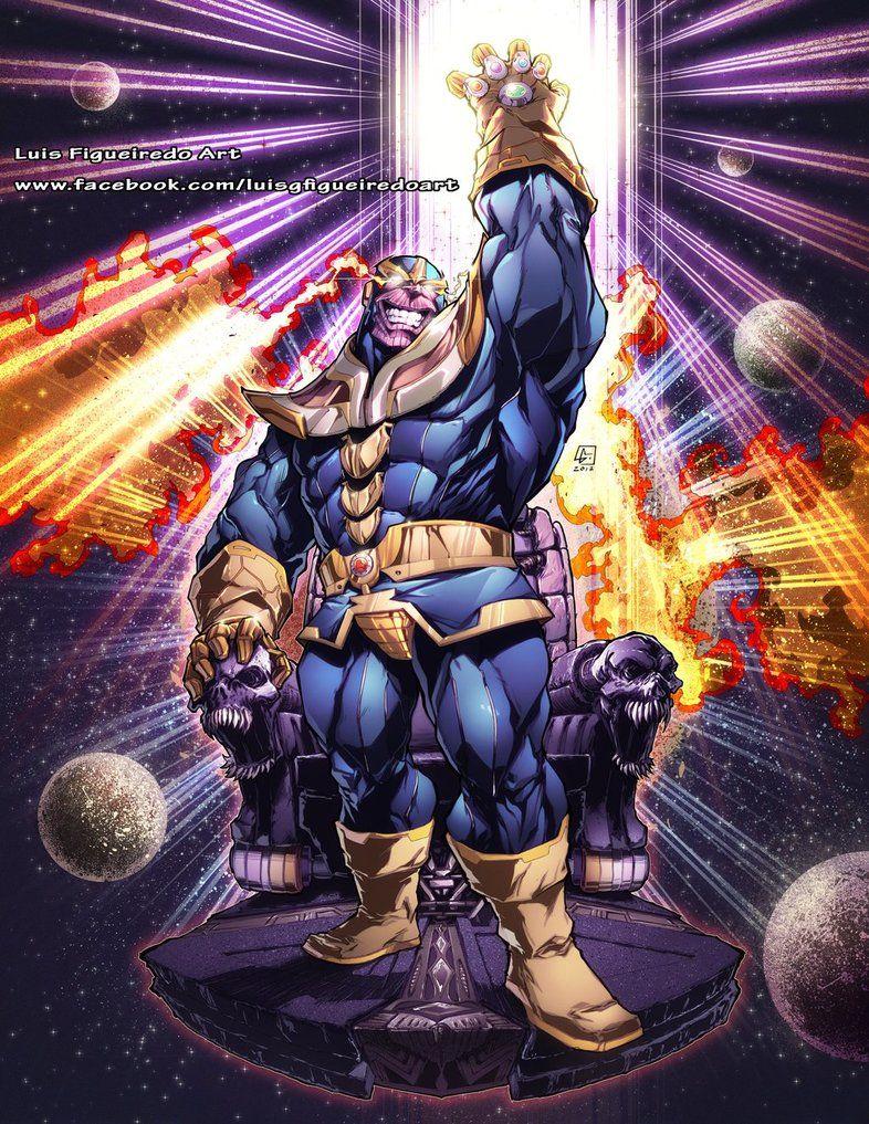 Thanos Commission T Shirt By Marvelmania Deviantart Com On Deviantart Marvel Villains Infinity Gauntlet Comic Marvel Comic Character