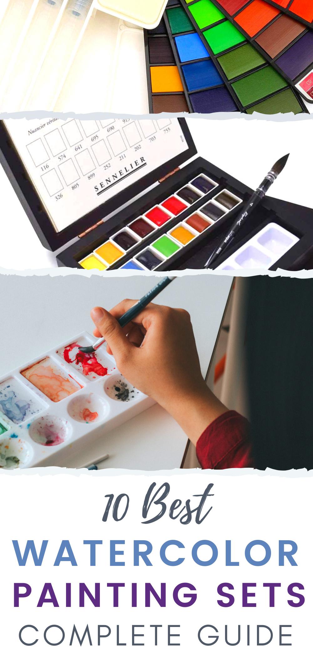 Best Watercolor Paint Sets Top 10 Watercolor Sets In Detail Watercolor Branding Paint Sets Watercolor Paint Set