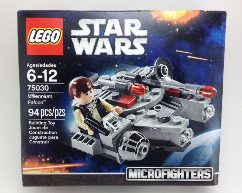 Lego Microfighters Star Wars Toys Han Solo Luke Skywalker Darth ...