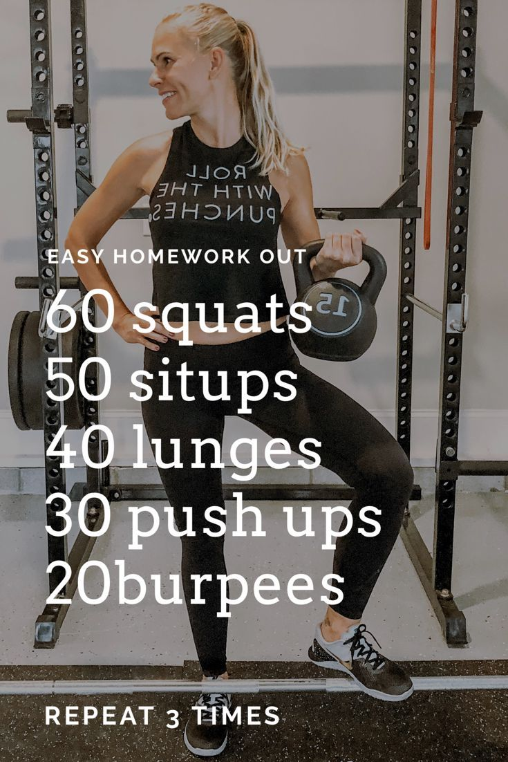 Easy Home Workouts - No gym  work out - Fitness #Easy #Workouts #Fitness