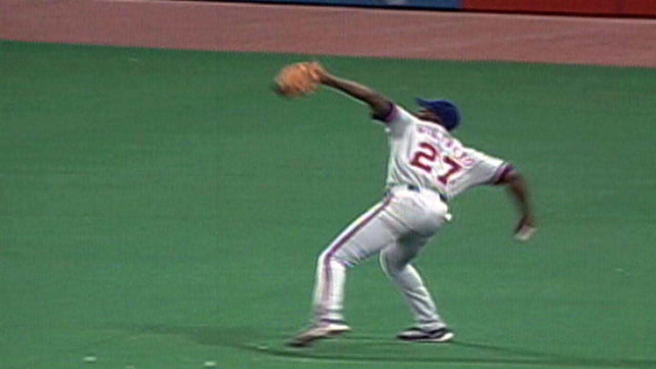 Mlb Greatest Outfield Throws Of All Time Youtube Baseball Vladimir Guerrero Major League Baseball