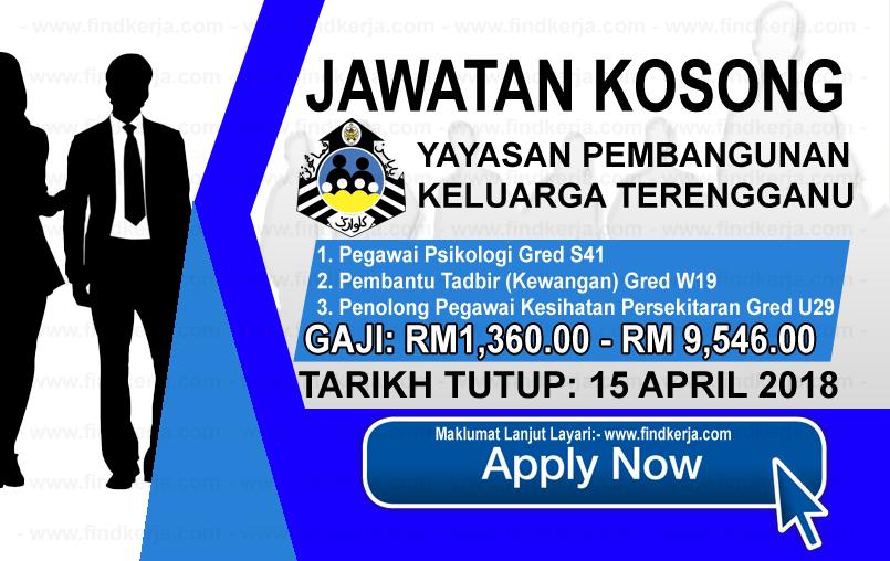 Kerja Kosong Ypkt Yayasan Pembangunan Keluarga Terengganu 15 April 2018 Applications Are Invited To Qualified Malaysian Citiz Terengganu Memes Ecard Meme