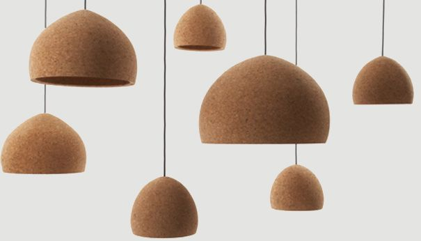 Float Recycled Cork Lamps By Benjamin Hubert Lamp