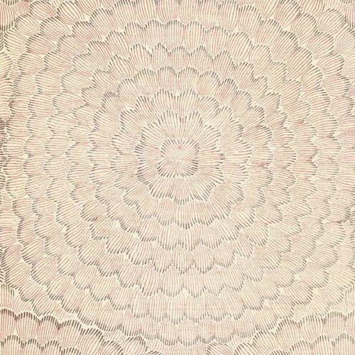 Schumacher FEATHER BLOOM VENETIAN PINK Wallpaper