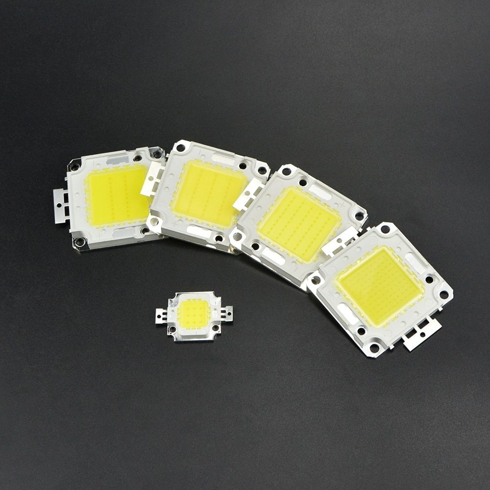 Universe Of Goods Buy 1pcs High Power 10w 20w 30w 50w 100w Cob Integrated Led Lamp Chip Smd Dc 9v 30v 36v For Diy Flood Light Spotlight Bulbs Led Lamp Bulb