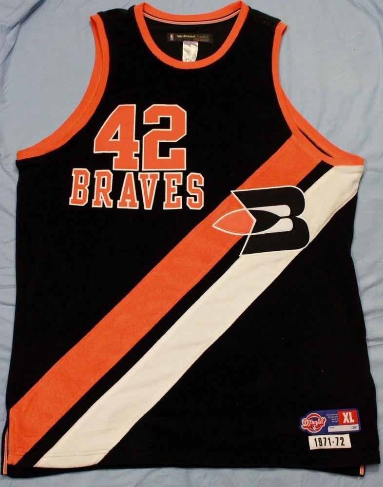 Reebok Elton Brand Buffalo Braves Basketball Jersey Hardwood Classics  42  Sz XL  Reebok  BuffaloBraves 7df8a1c18