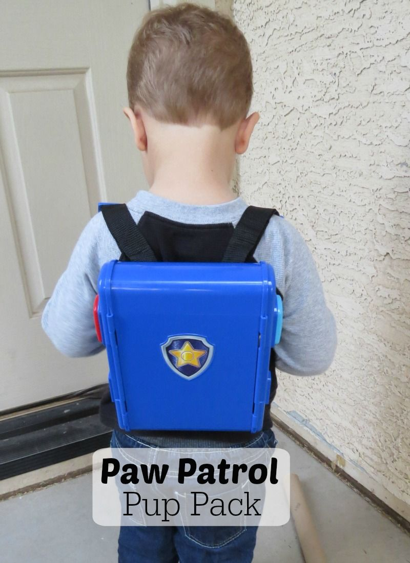 Paw Patrol Pup Pack Backpack for Kids.  Read our review...