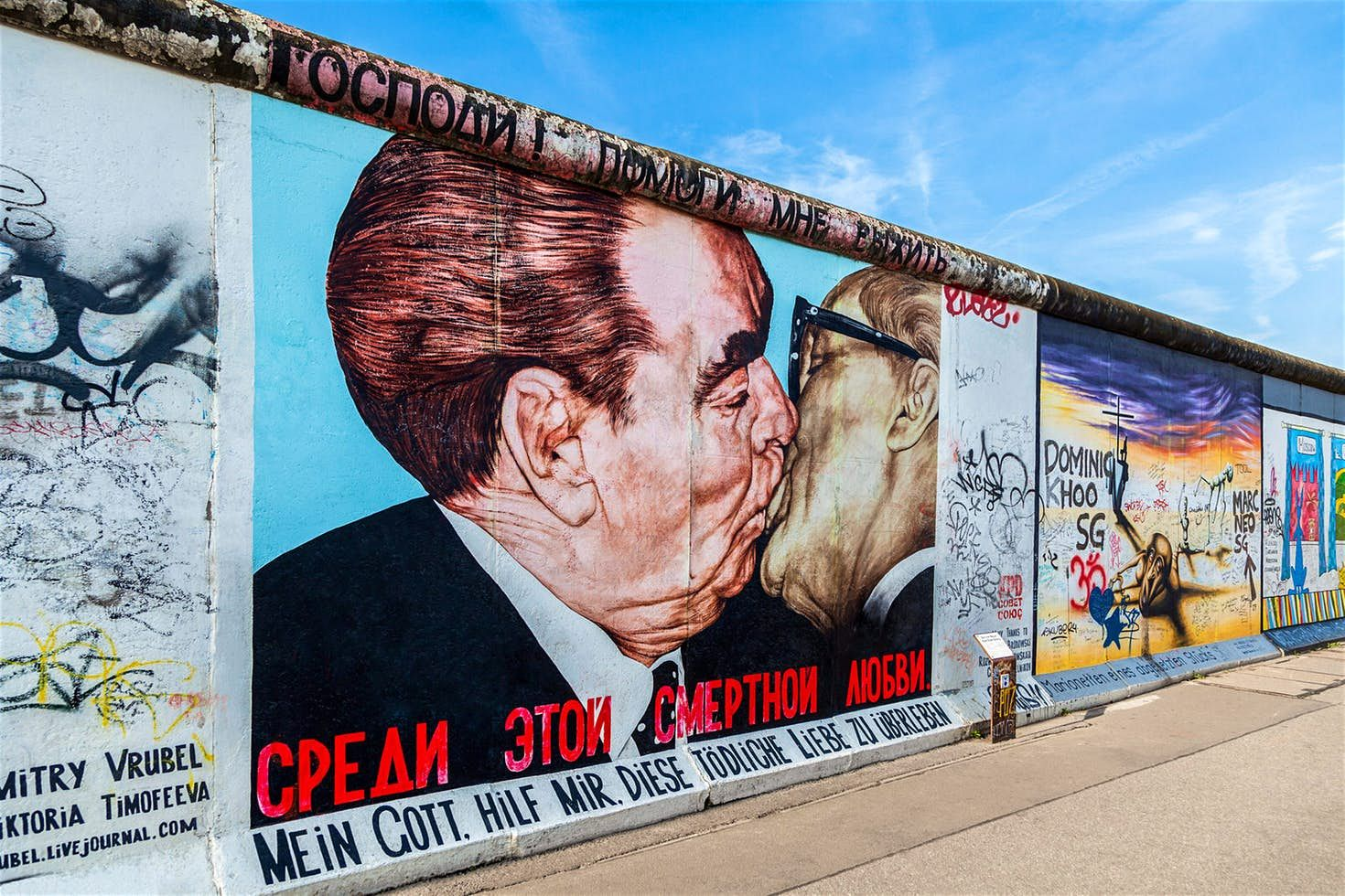 Berlin Wall Graffiti Titled My God Help Me To Survive This Deadly Love Seen On The East Side Galler East Side Gallery Germany Photography Berlin Photography