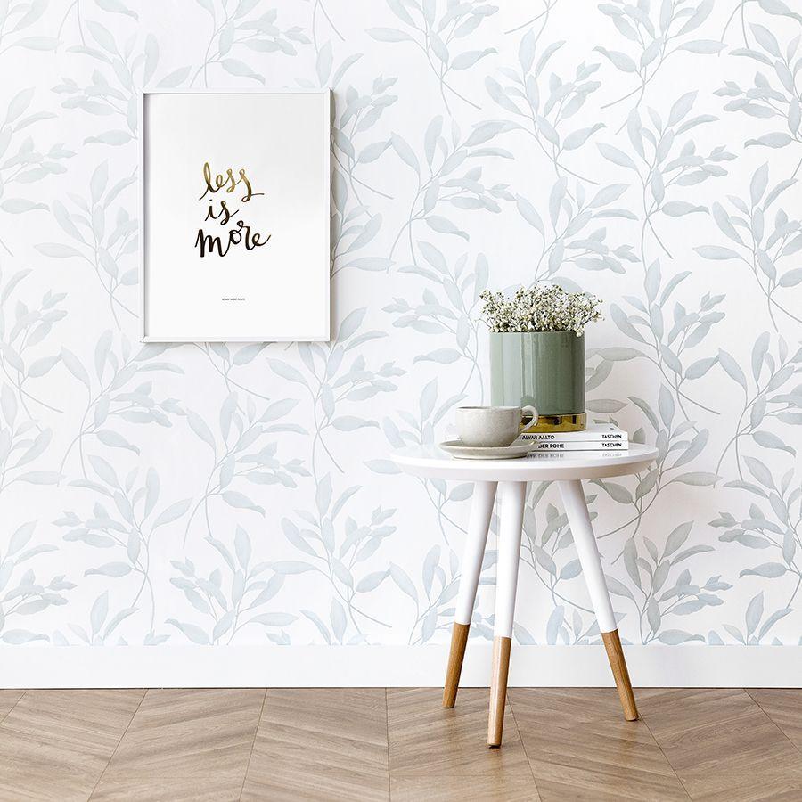 Papel Pintado Nature Paredes Con Papel Pintado Decoracion Con Papel Pintado Papel Pintado Blanco Y Gris