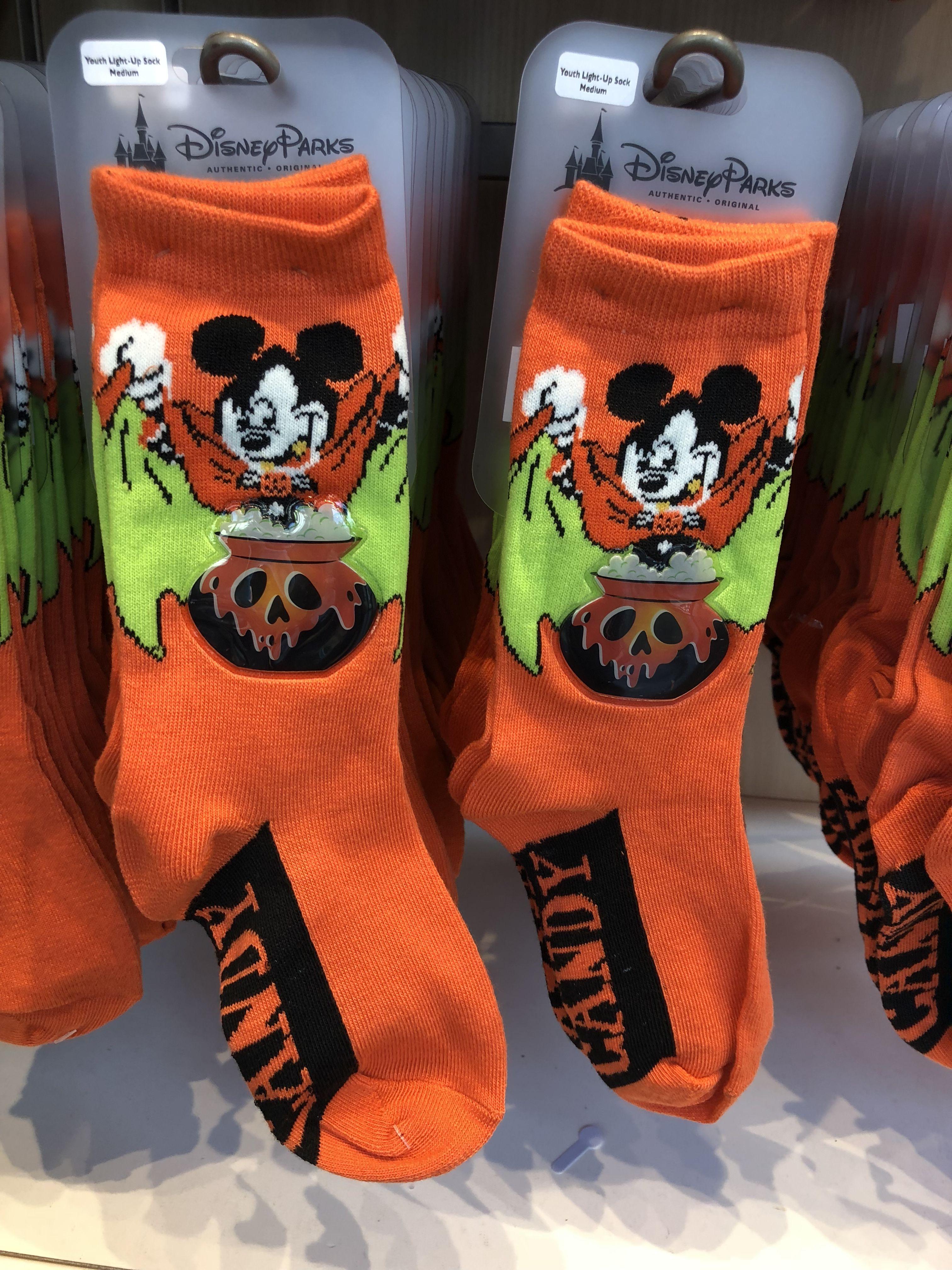 Frightfully Cute Halloween Merchandise Disney socks