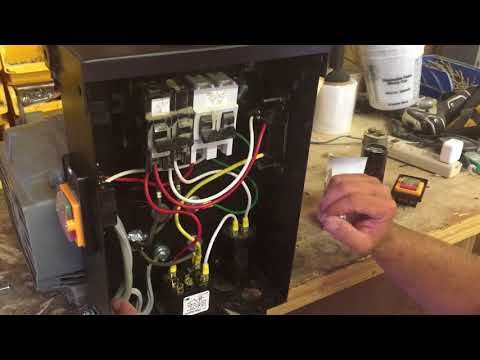 How To Build A Rotary Three Phase Converter With Details Parts Youtube Converter Rotary Building