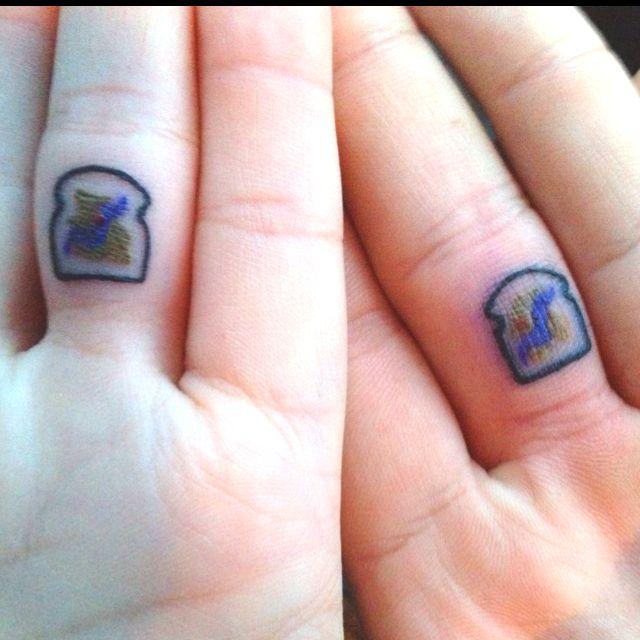 Matching Peanut Butter Jelly Tattoos Tattoos Tattoos Tattoo