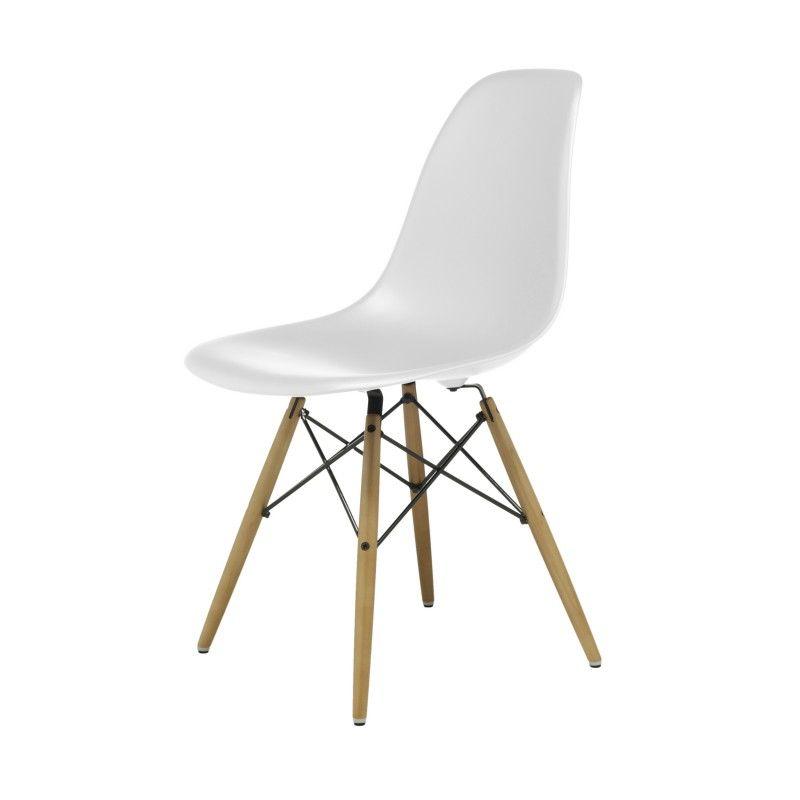 Charmant Eames Plastic Side Chair Stuhl DSW Mit Kunststoffgleitern