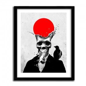SPLASH SKULL by ALI GULEC // PRINT 40x60cm // Papier fine Art Innova 300g