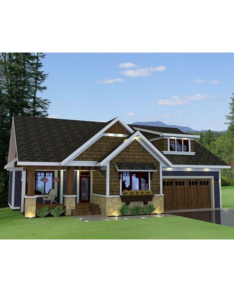 Cape Cod New England Country Ranch Southern Traditional Craftsman Narrow Lot Photo House Plans House House Styles