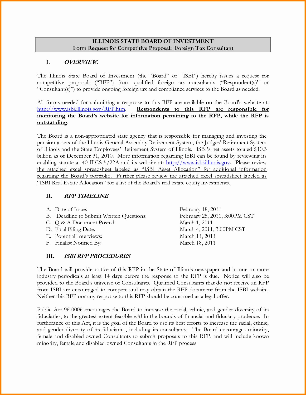 25 Consulting Proposal Sample In
